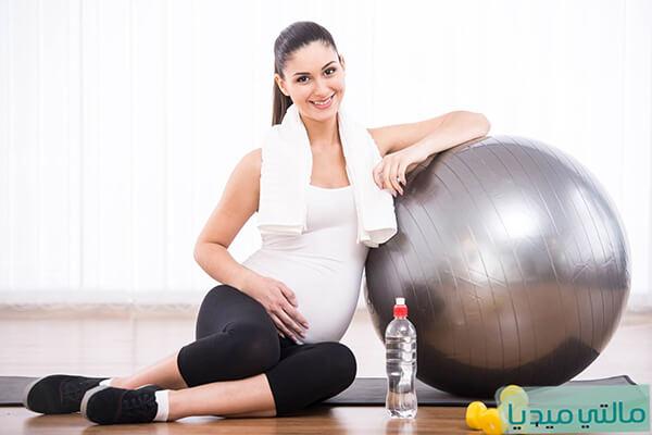 تمارين الحامل فى الشهر التاسع